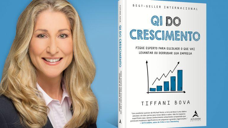 Entrevista com a autora Tiffani Bova do livro QI do Crescimento